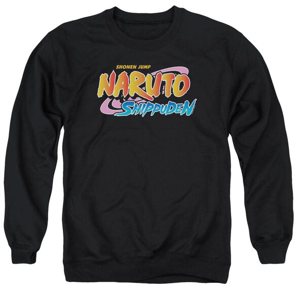 Naruto Shippuden Logo Adult Crewneck Sweatshirt