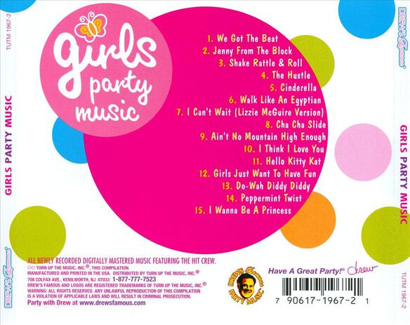 Girls Party Music 1205