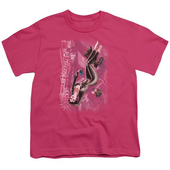 Jla Catwoman #1 Short Sleeve Youth Hot T-Shirt