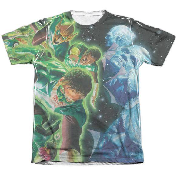 Green Lantern Guardians Adult 65 35 Poly Cotton Short Sleeve Tee T-Shirt