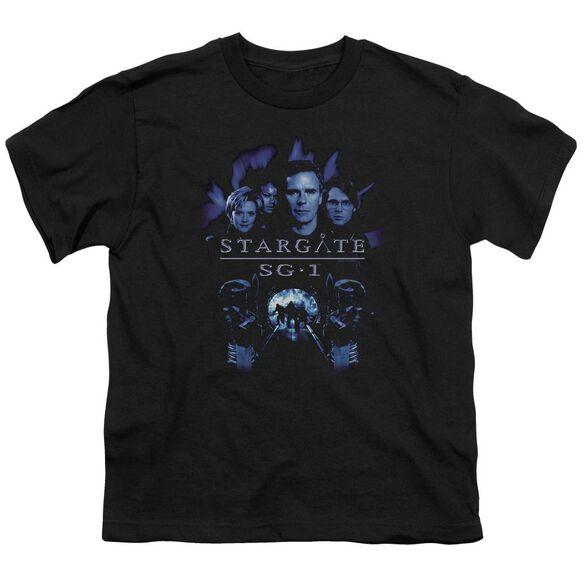 Sg1 Sg1 Stargate Command Short Sleeve Youth T-Shirt