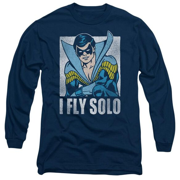 Dc Fly Solo Long Sleeve Adult T-Shirt