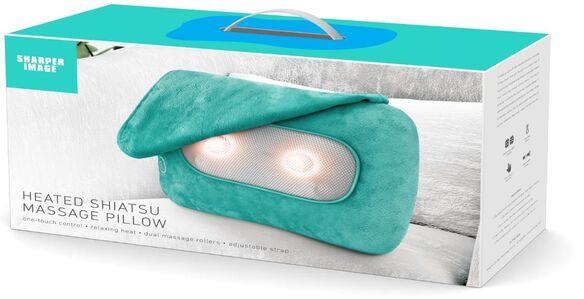 Heated Shiatsu Massage Pillow [Aqua]