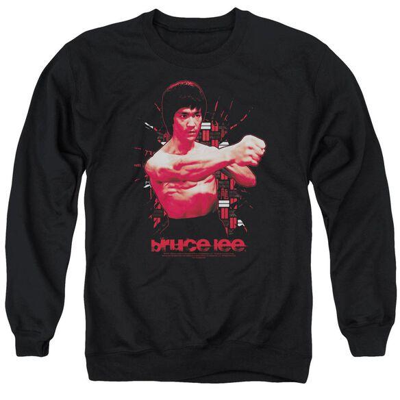 Bruce Lee The Shattering Fist Adult Crewneck Sweatshirt