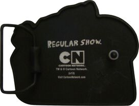 Regular Show Play Punchies Belt Buckle