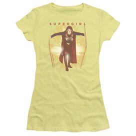 Supergril Through The Door Short Sleeve Junior Sheer T-Shirt