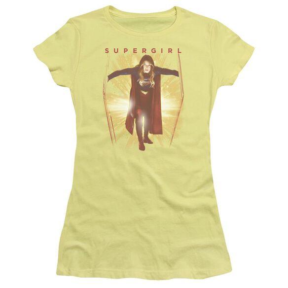 Supergril Through The Door Short Sleeve Junior Sheer T-Shirt