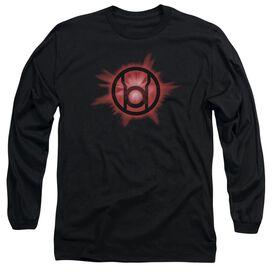 Green Lantern Red Glow Long Sleeve Adult T-Shirt