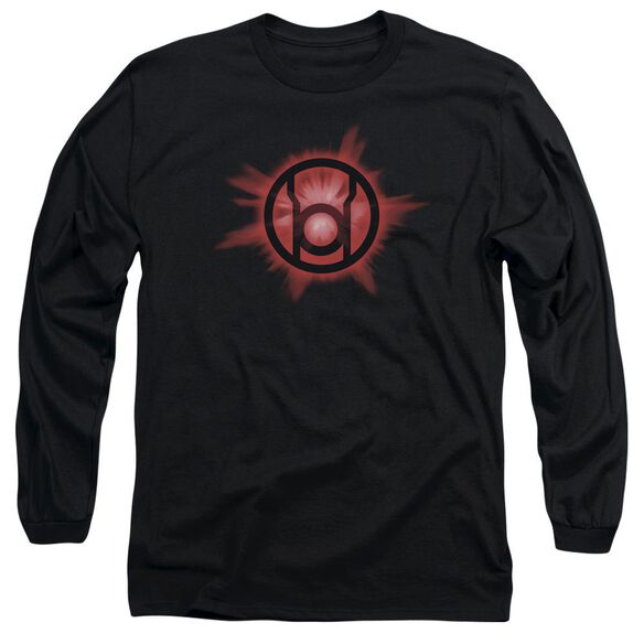 Green Lantern Red Glow Long Sleeve Adult T-Shirt