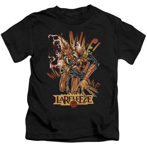 Green Lantern Larfleeze Short Sleeve Juvenile Black T-Shirt