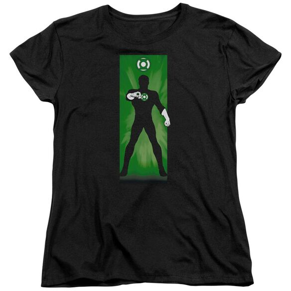 Dc Green Lantern Block Short Sleeve Womens Tee T-Shirt