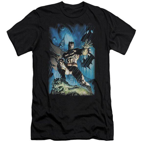 Batman Stormy Dark Knight Short Sleeve Adult T-Shirt