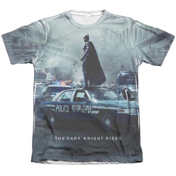 Dark Knight Rises Standoff Adult Poly Cotton Short Sleeve Tee T-Shirt
