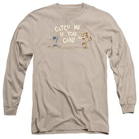 Looney Tunes Catch Me Long Sleeve Adult T-Shirt