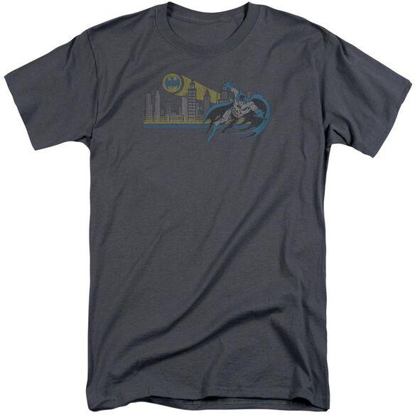 Dc Gotham Retro Short Sleeve Adult Tall T-Shirt
