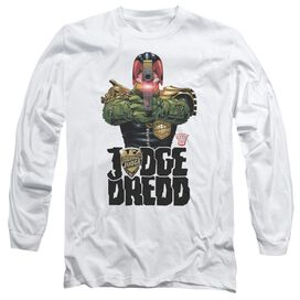 Judge Dredd In My Sights Long Sleeve Adult T-Shirt