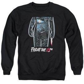 Friday The 13 Th 13 Th Poster Adult Crewneck Sweatshirt