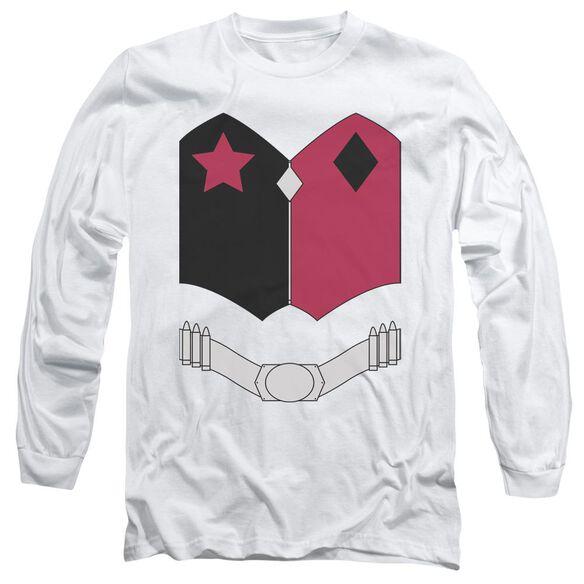 Batman New Hq Uniform Long Sleeve Adult T-Shirt