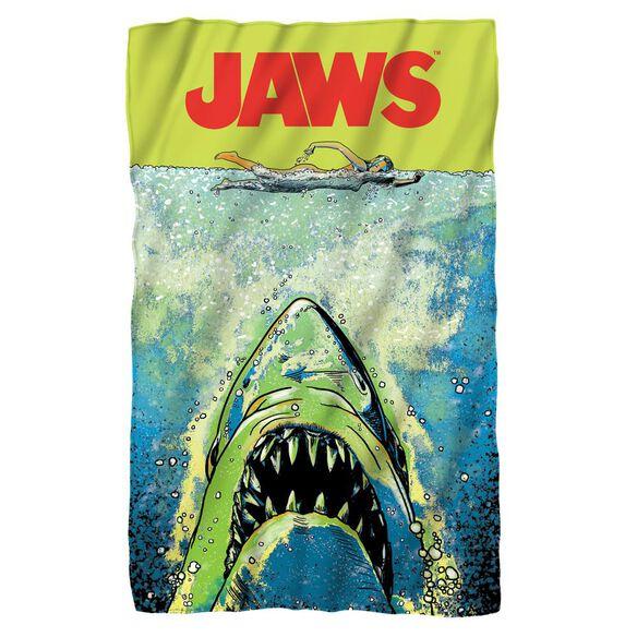 Jaws Attack Fleece Blanket