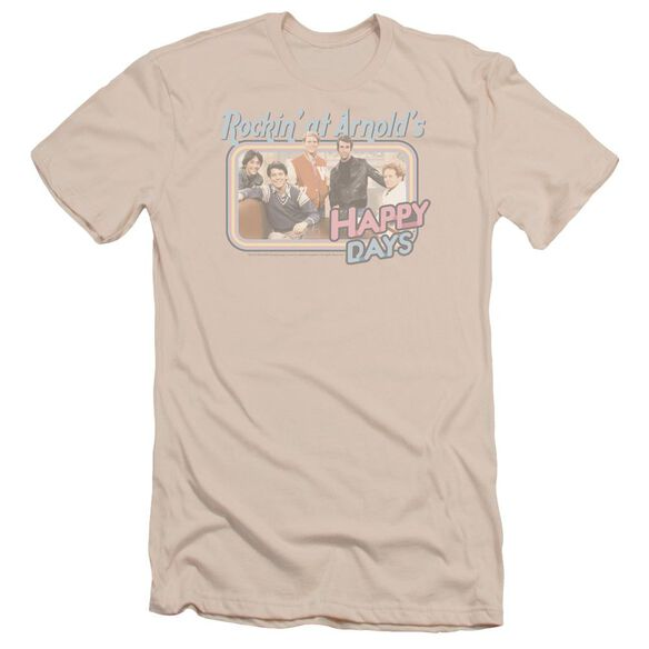Happy Days Rockin' At Arnold's Short Sleeve Adult T-Shirt