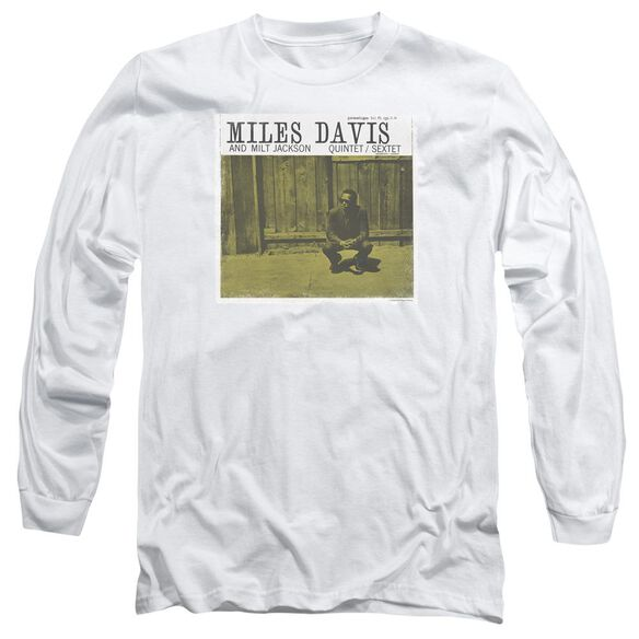 Miles Davis Miles And Milt Long Sleeve Adult T-Shirt