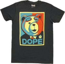 Ted Dope Poster T-Shirt Sheer