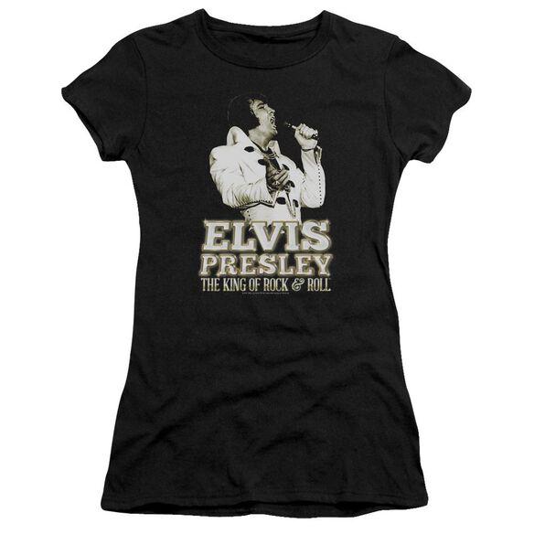 Elvis Golden Short Sleeve Junior Sheer T-Shirt