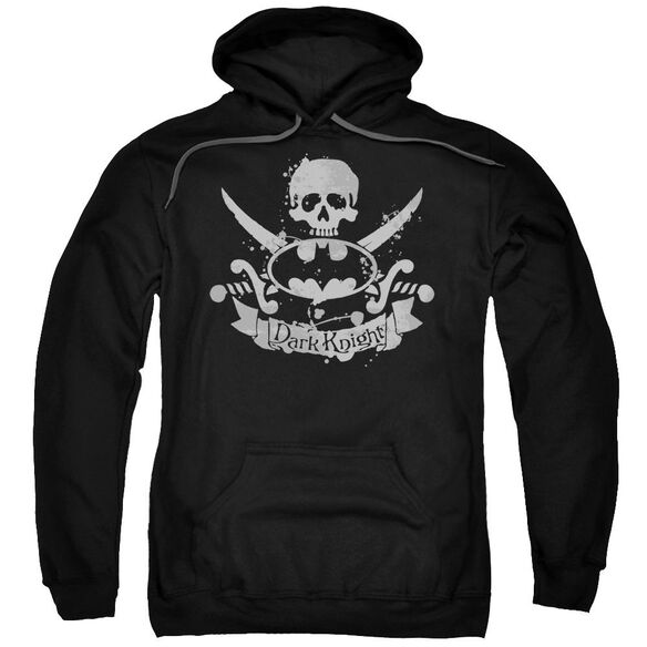 Batman Dark Pirate Adult Pull Over Hoodie Black
