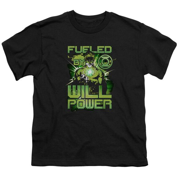 Green Lantern Fueled Short Sleeve Youth T-Shirt