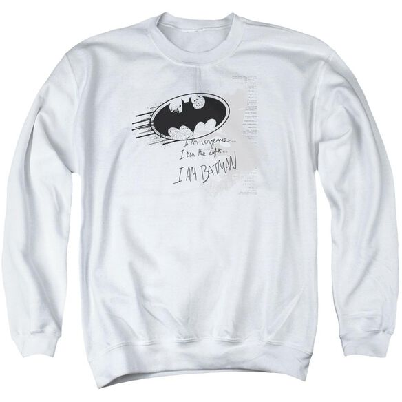Batman I Am Vengeance Adult Crewneck Sweatshirt