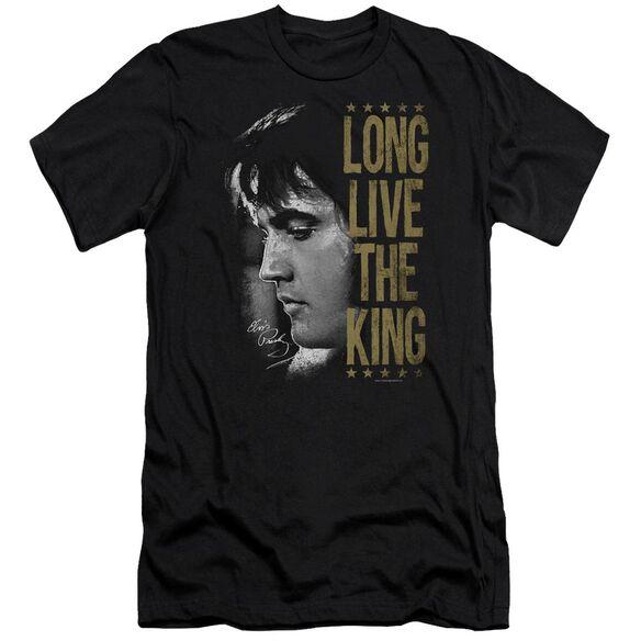 Elvis Long Live The King Premuim Canvas Adult Slim Fit