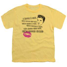 ELVIS PRESLEY KISSED ELVIS - S/S YOUTH 18/1 T-Shirt