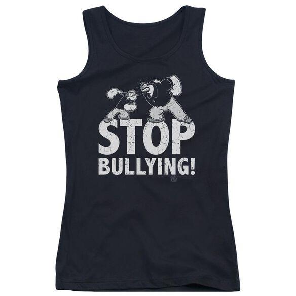 Popeye Stop Bullying Juniors Tank Top