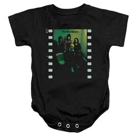 Yes Album Infant Snapsuit Black