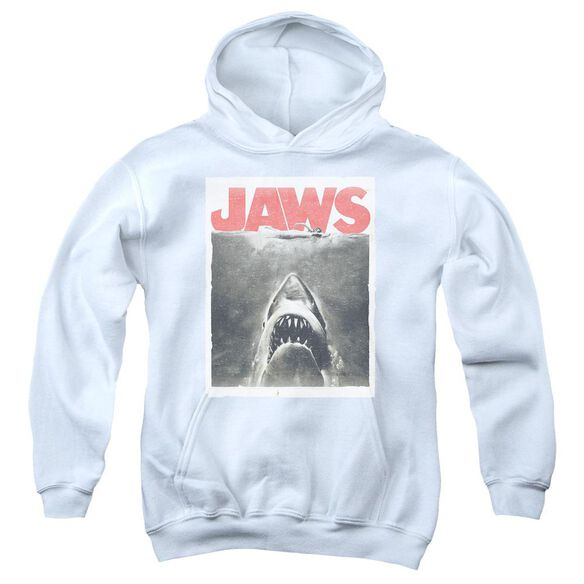 Jaws Classic Fear Youth Pull Over Hoodie