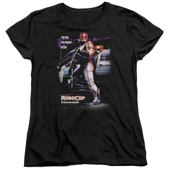 Robocop Poster Short Sleeve Womens Tee T-Shirt