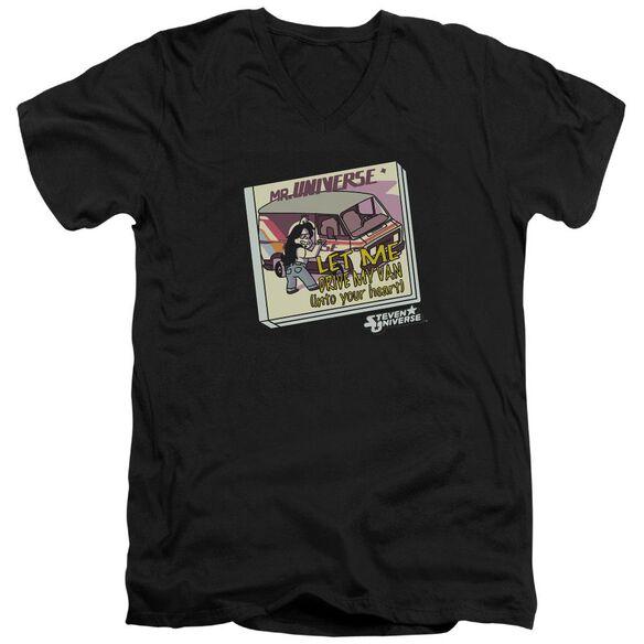 Steven Universe Mr. Universe Short Sleeve Adult V Neck T-Shirt