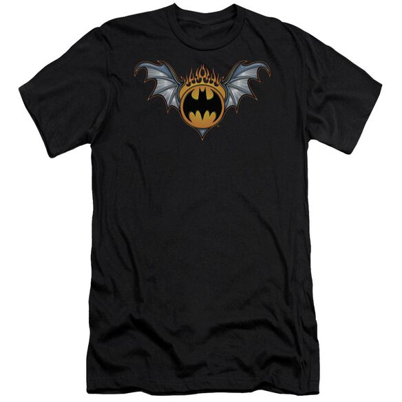 Batman Bat Wings Logo Short Sleeve Adult T-Shirt