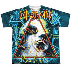 Def Leppard Hysteria Short Sleeve Youth Poly Crew T-Shirt