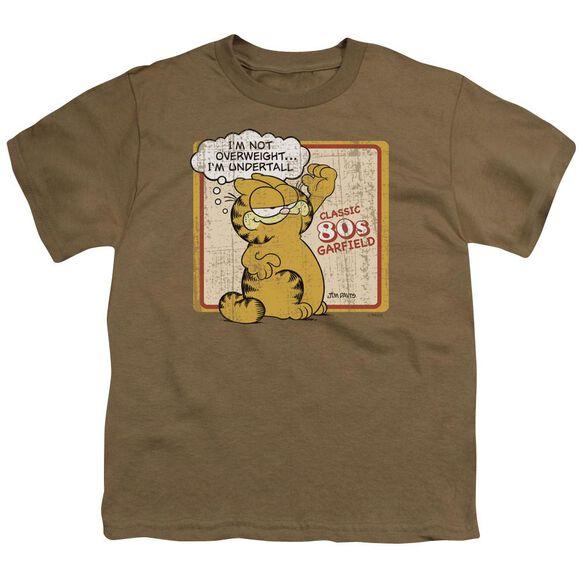 GARFIELD UNDERTALL - S/S YOUTH 18/1 - SAFARI GREEN T-Shirt