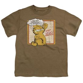 Garfield Undertall Short Sleeve Youth Safari T-Shirt