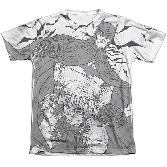 Batman Liney Sub Adult Poly Cotton Short Sleeve Tee T-Shirt