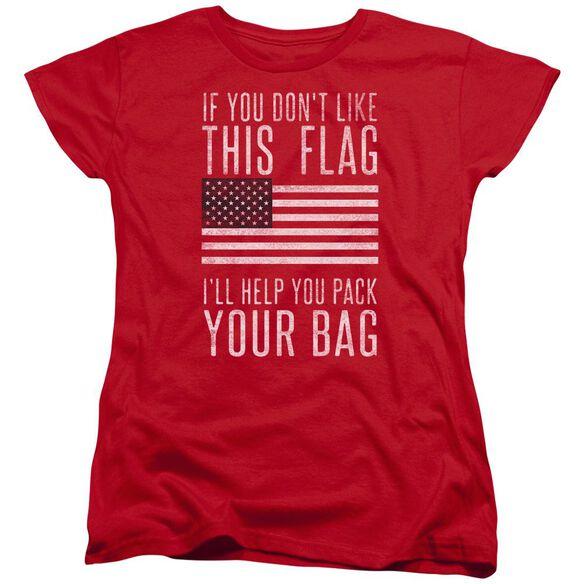 Pack Your Bag Short Sleeve Womens Tee T-Shirt