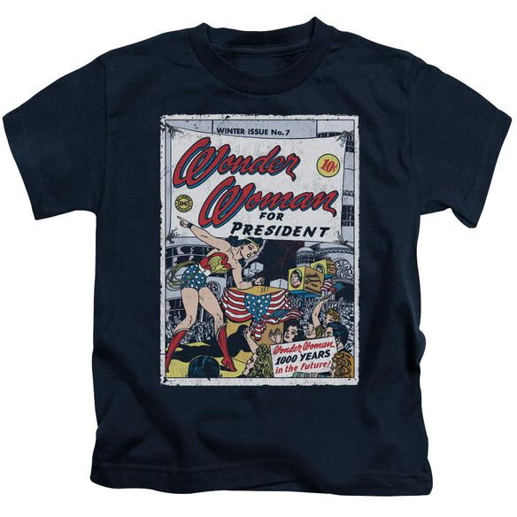 Dc Ww For President Short Sleeve Juvenile T-Shirt