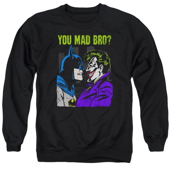 Dc Mad Bro Adult Crewneck Sweatshirt