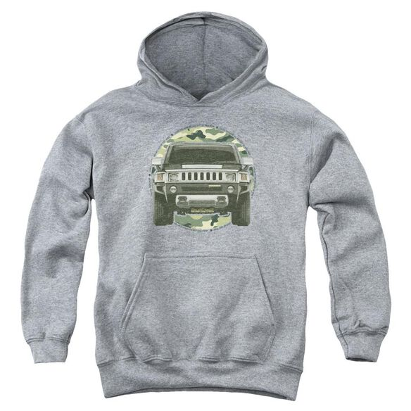 Hummer Lead Or Follow Youth Pull Over Hoodie Athletic
