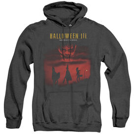 Halloween Iii Season Of The Witch - Adult Heather Hoodie - Black