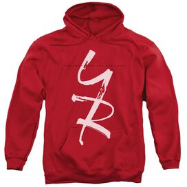 Young And The Restless Yr Adult Pull Over Hoodie