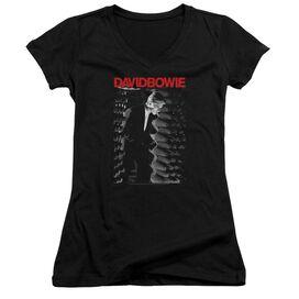 David Bowie Station To Station Junior V Neck T-Shirt