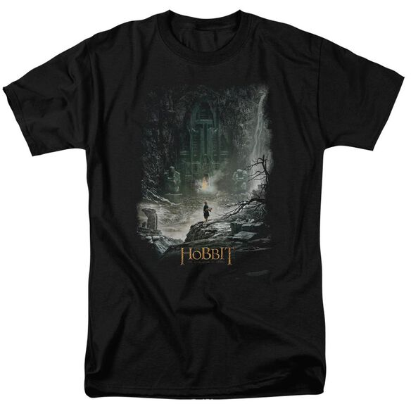 Hobbit At Smaug's Door Short Sleeve Adult T-Shirt